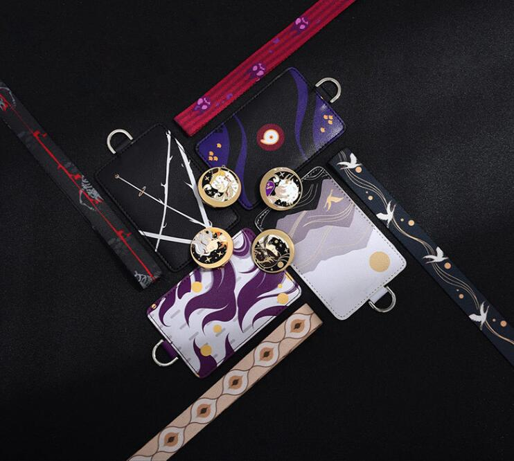 阴阳师的证件套衍生周边如何让三件套看起来一体化