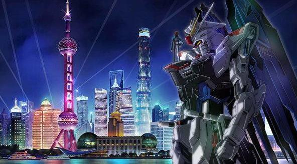 上海1:1自由高达动画衍生品其背后的意义