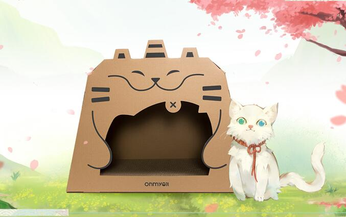 阴阳师推出的猫猫屋游戏行业周边